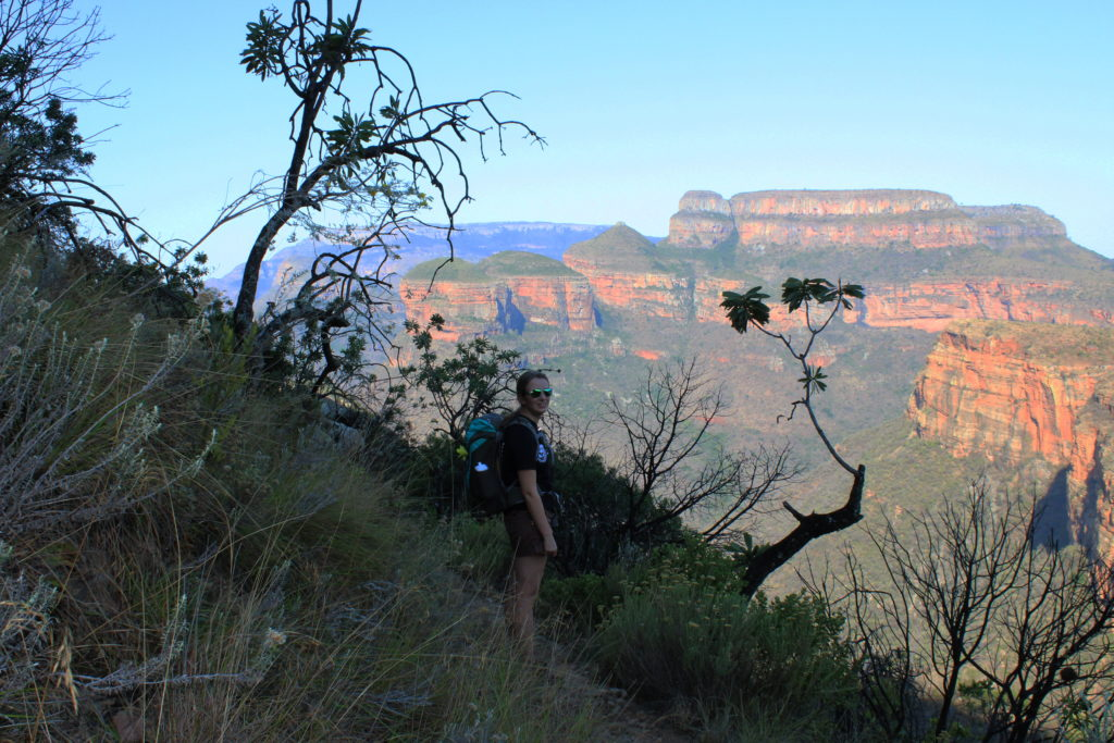 Wandern auf dem Leopard Trail