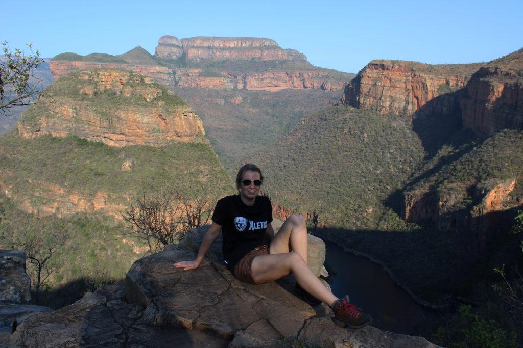 Blick auf dem Blyde River Canyon