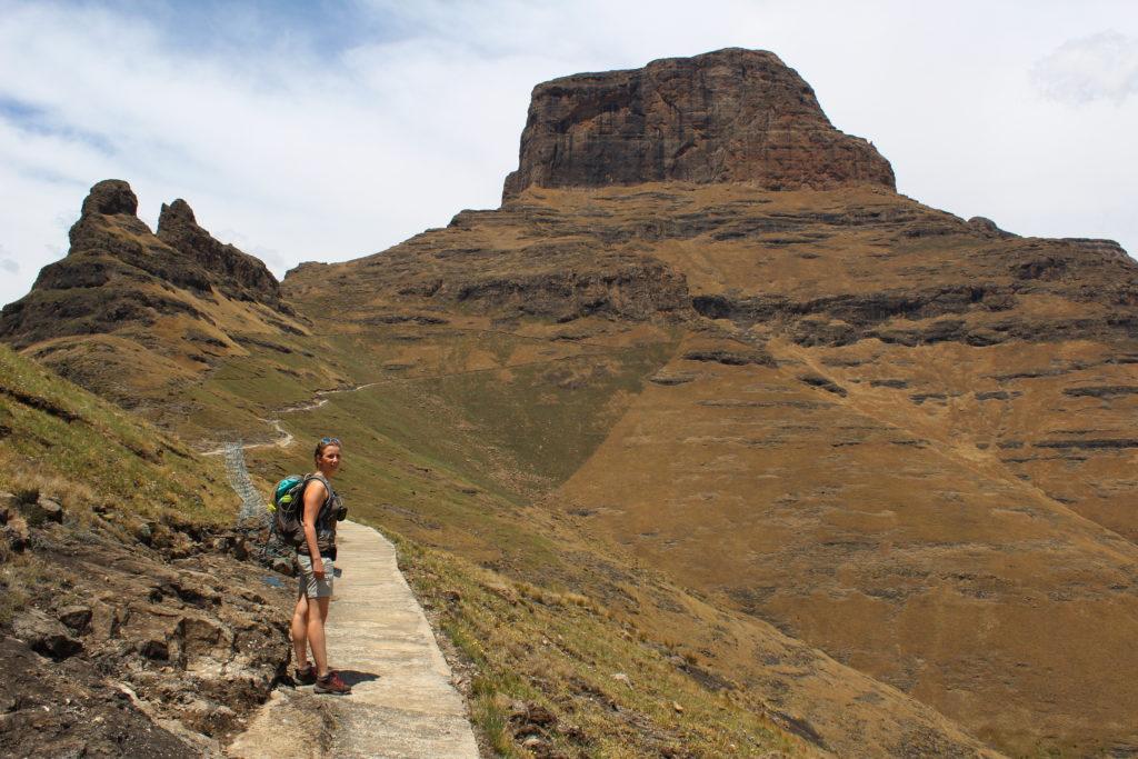 Wandern auf dem Holkrans Hiking Trail, Südafrika