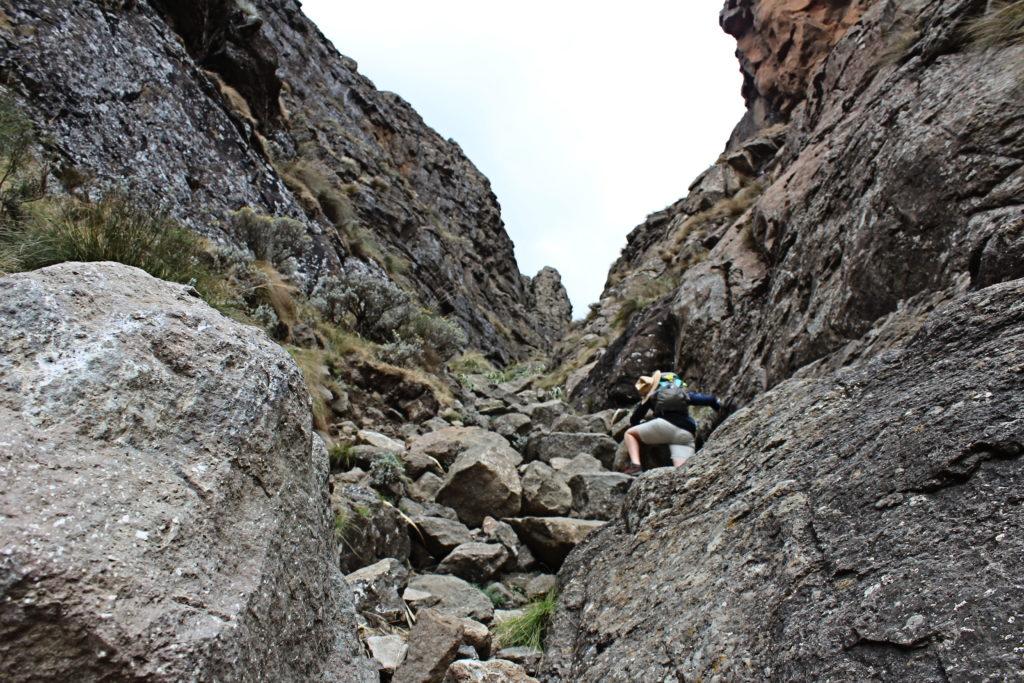 Der Gully, Holkans Trail