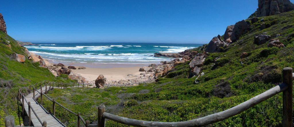 Strandabschnitt im Robberg Nature Reserve, Südafrika