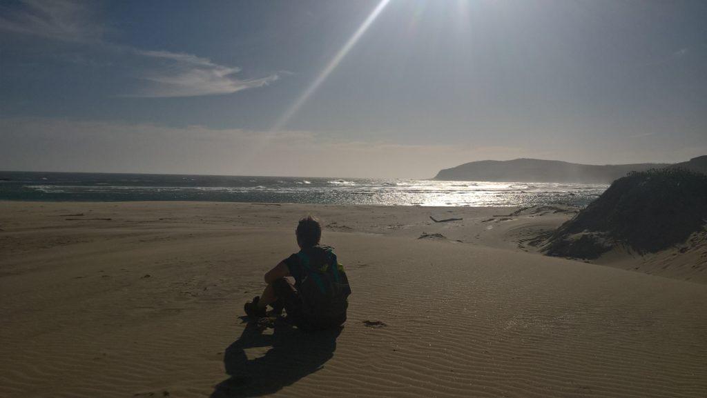 Einsamer Strand im Robberg-Nature-Reserve