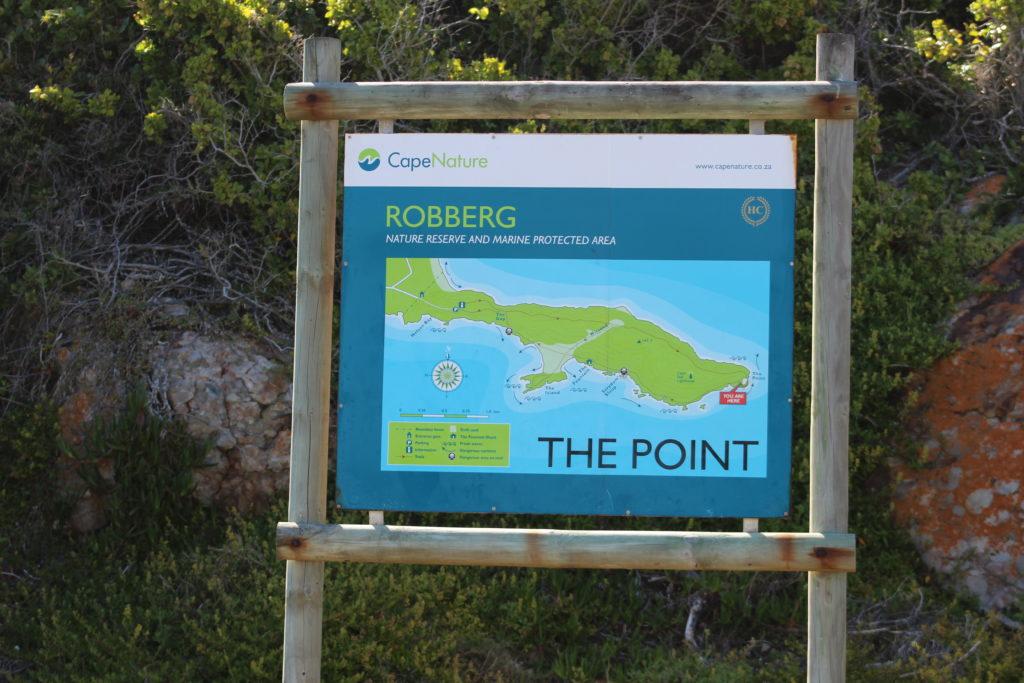 Wanderwege im Robberg-Nature-Reserve