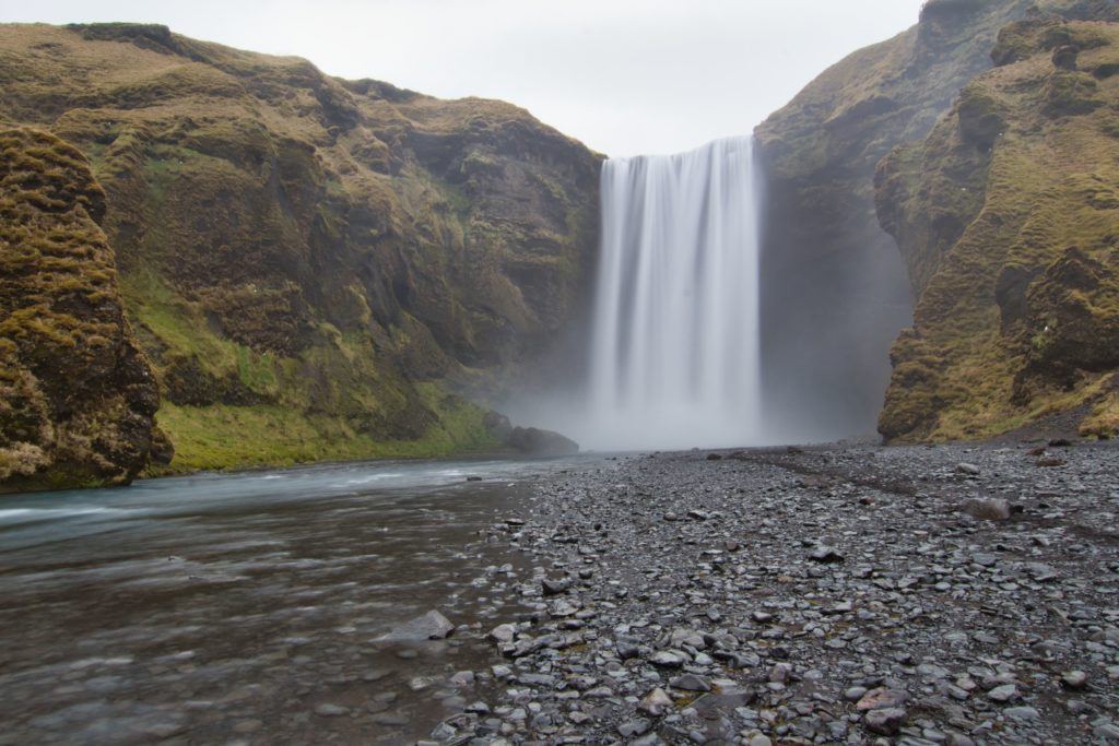 Skogafoss auf Island