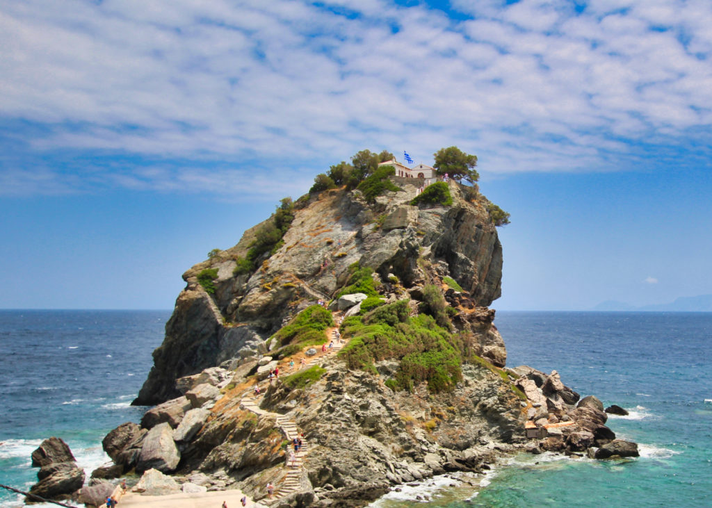 Agios Ioannis, Mamma Mia Chapel Skopelos
