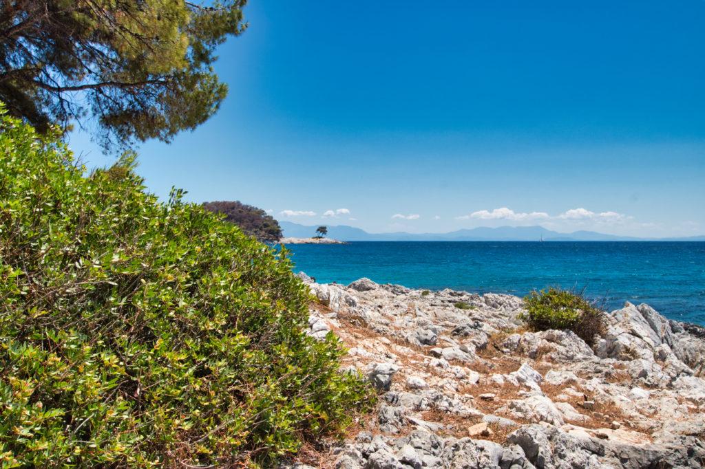 Einsame Buchten auf Skopelos