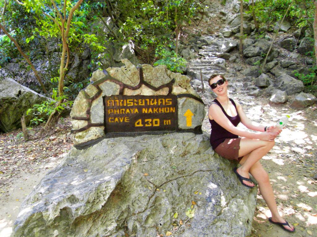 Aufstieg zur Phraya-Nakhon Cave