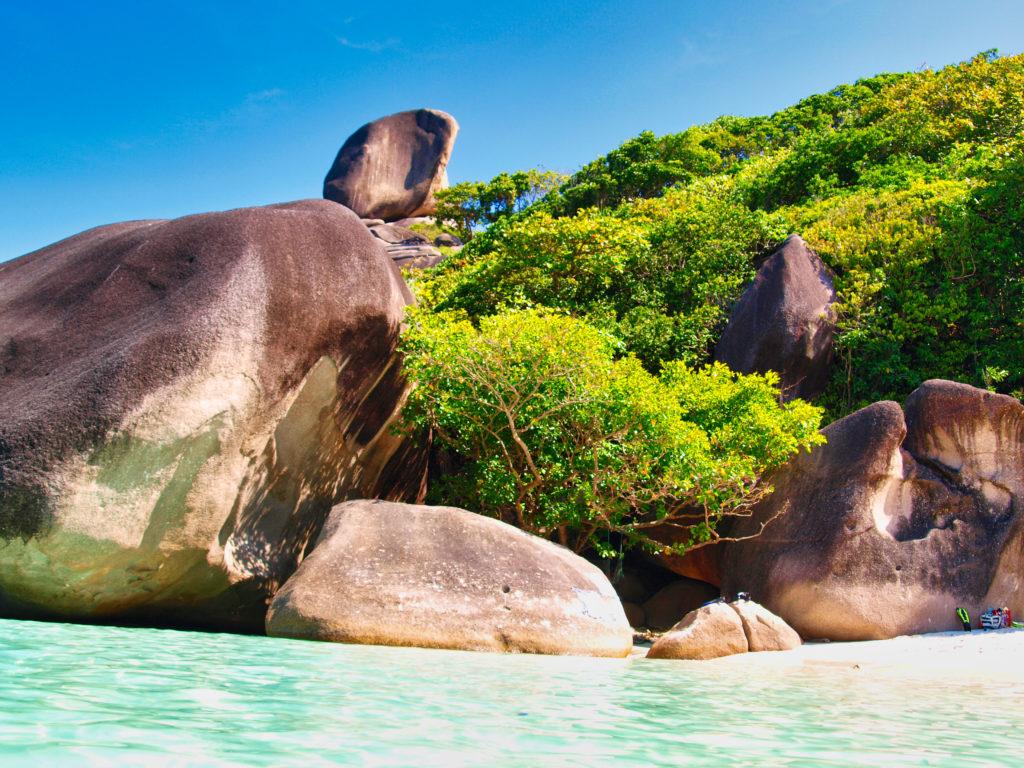 Donald Duck Bay Insel Nr8 Similan Inseln