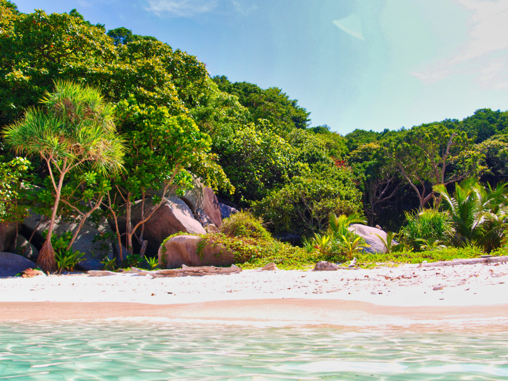 Traum Strand Similan Island